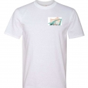 White Short Sleeve T Youth Small Design #2