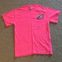 Neon Pink Comfort Color Size Small Short Sleeve Design #2