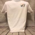 White Short Sleeve T size Medium Design #2