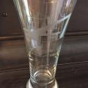 Pilsner Glass - Etched